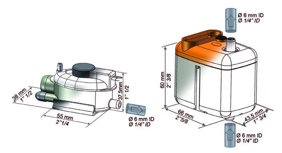 Схема дренажной помпы si 2750