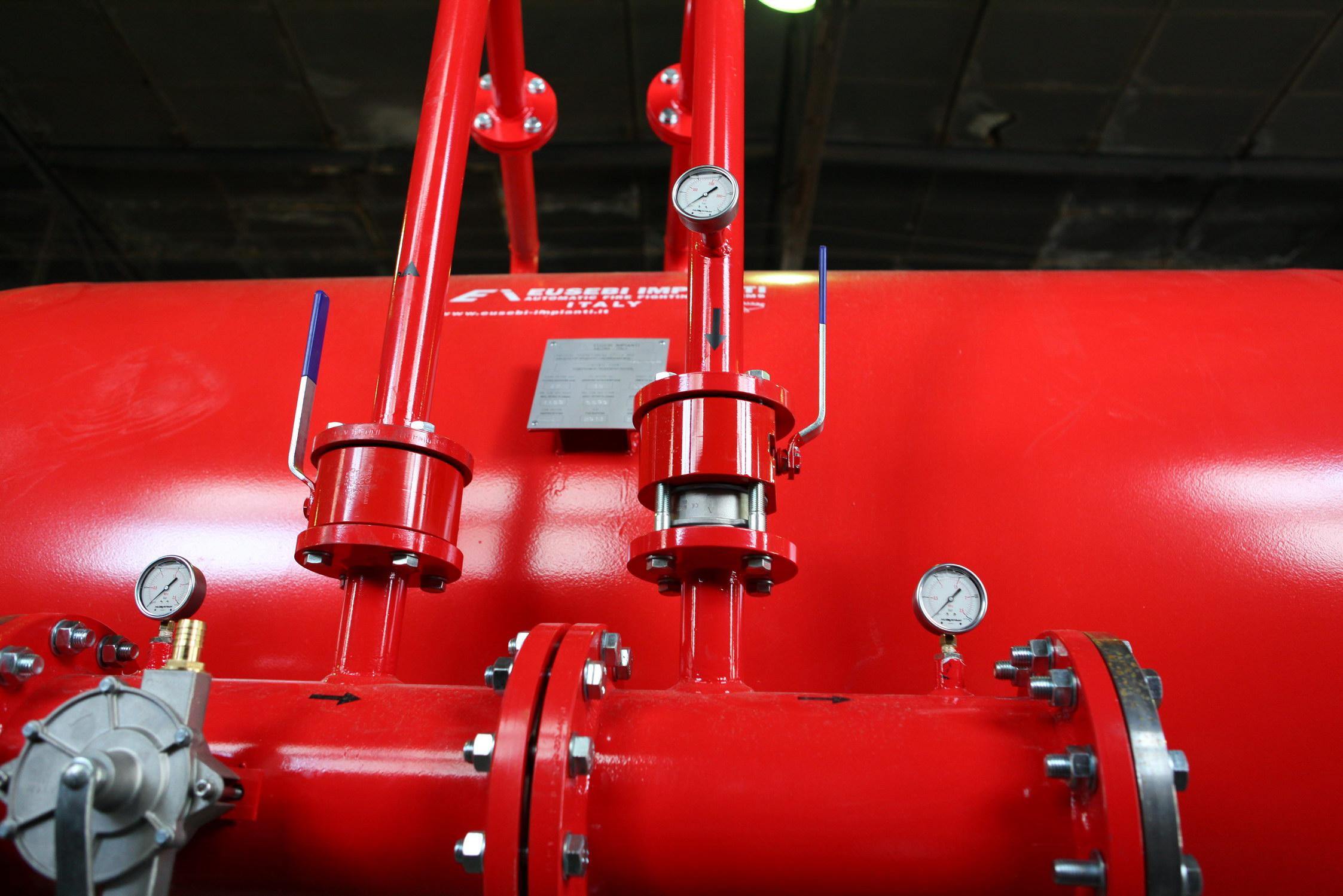 баки дозаторы установки пенного пожаротушения
