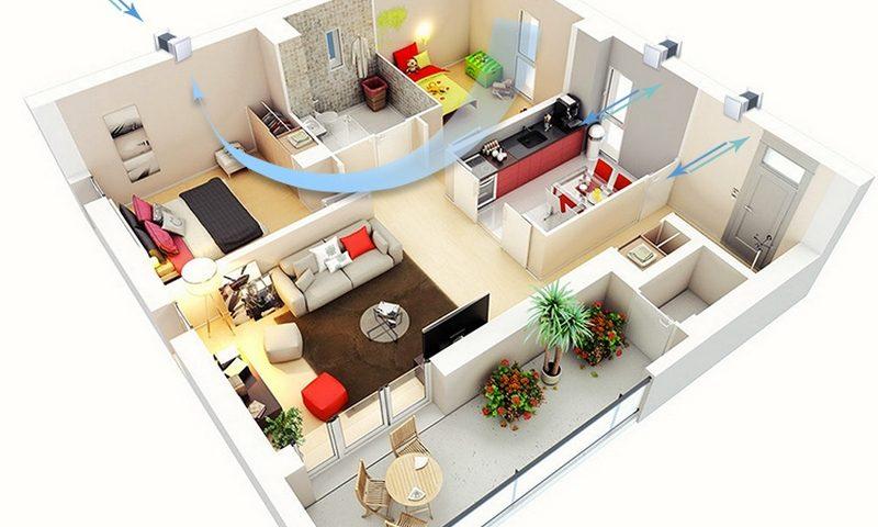 Вентиляция в квартире своими руками. Как организовать?
