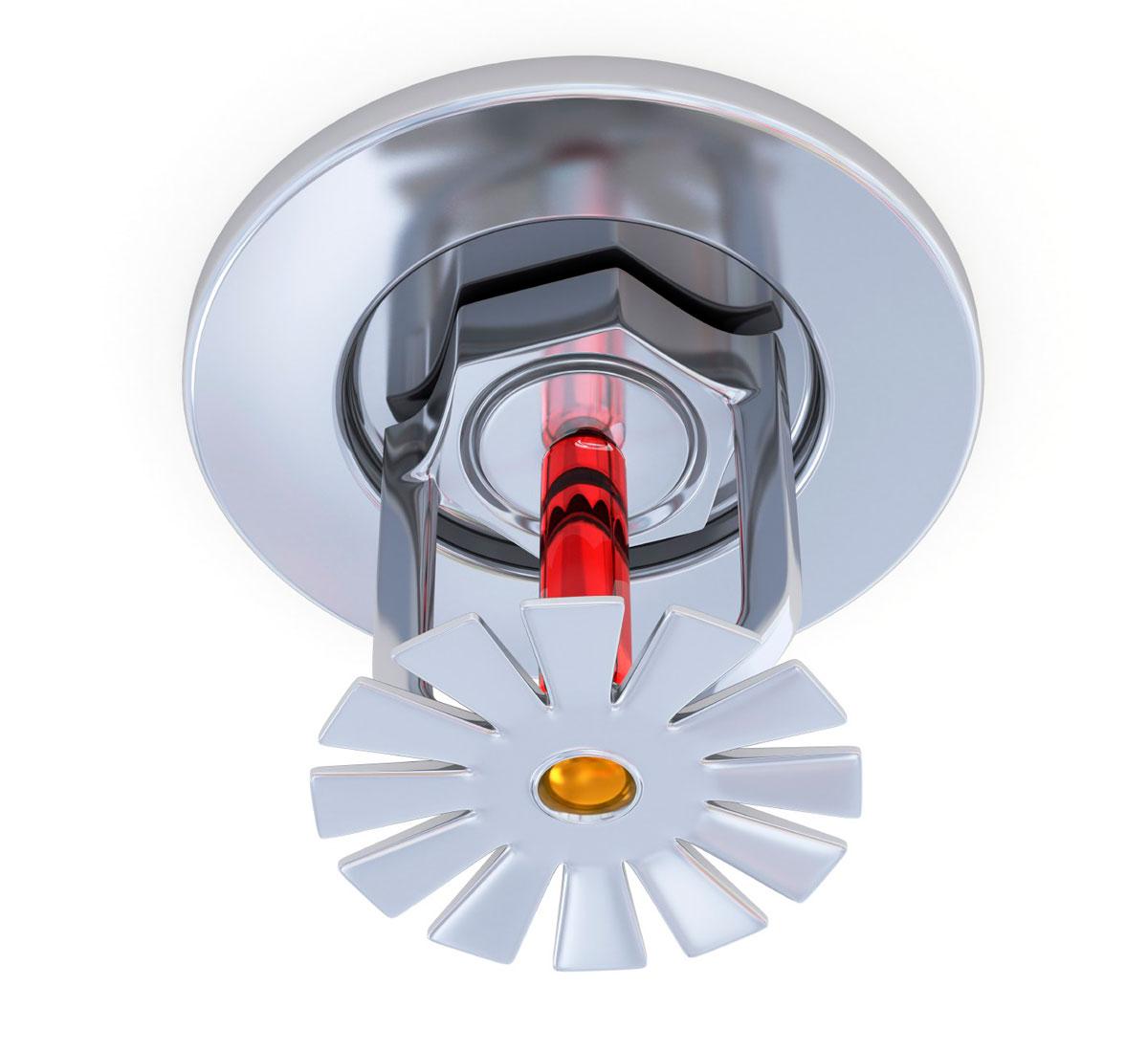 ороситель системы пожаротушения