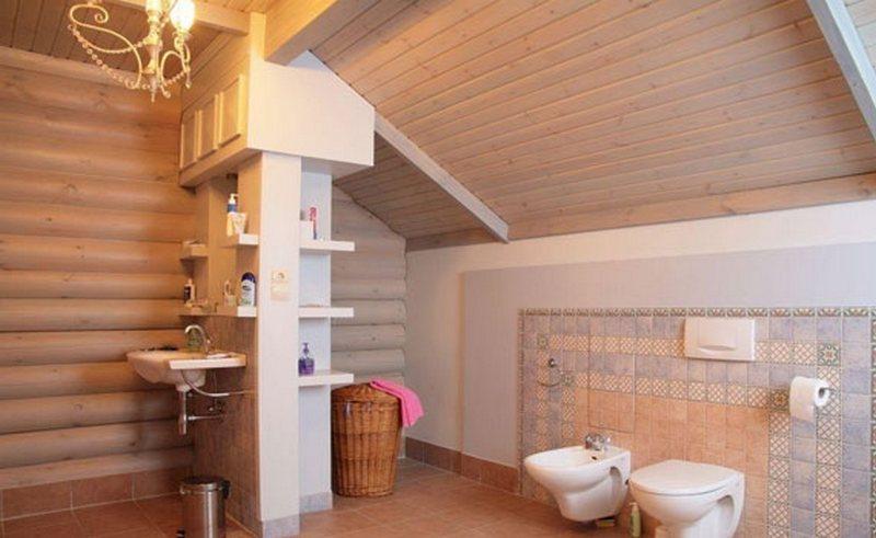 Туалет и ванная в частном доме своими руками 41