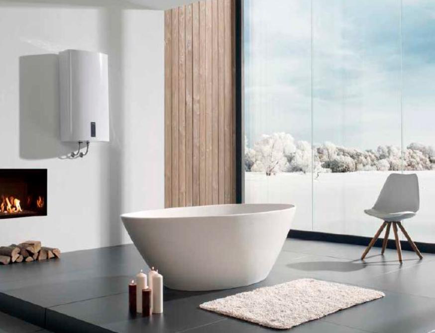 проточный газовый водонагреватель в ванной