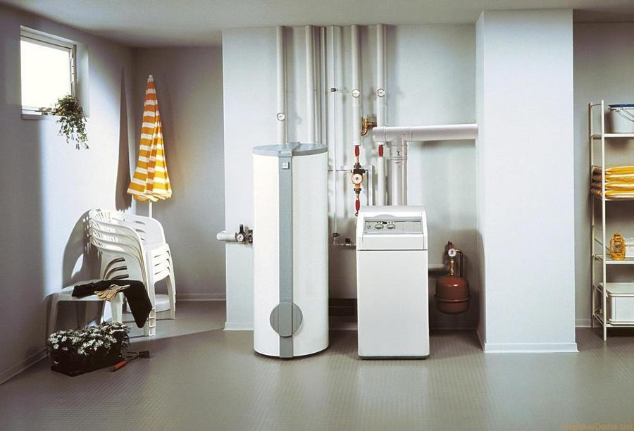 система отопления на газу
