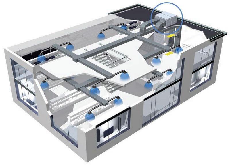 проект системы кондиционирования