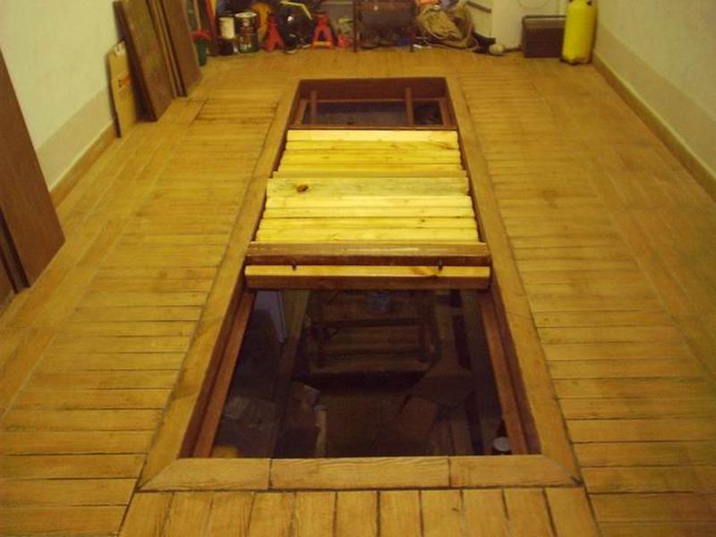 яма в подвале гаража