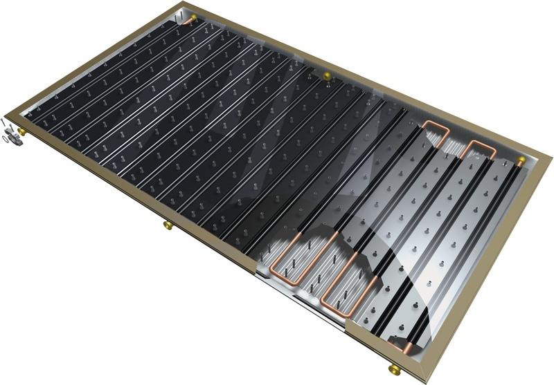 устройство солнечного водонагревателя