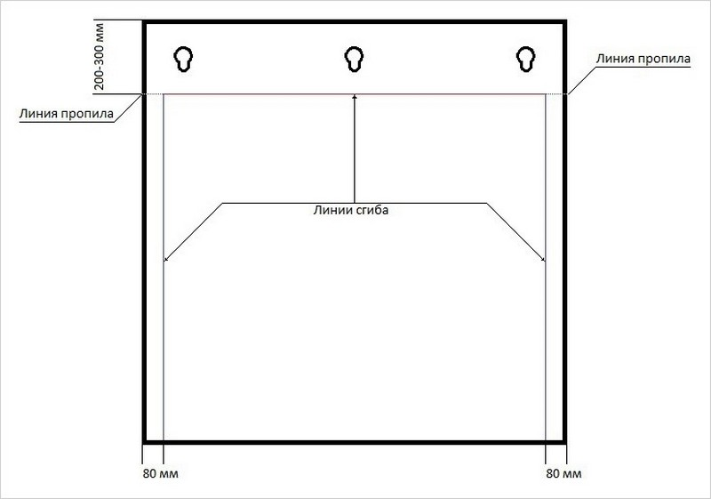 экран для кондиционера схема