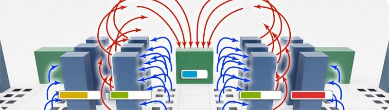 схема работы кондиционера для серверной