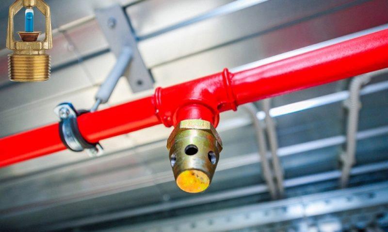 Функциональное устройство системы пожаротушения