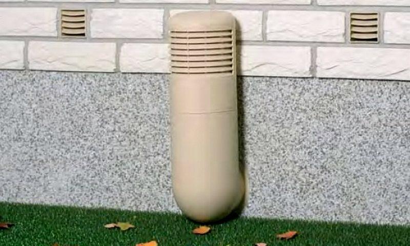 Вентиляция подполья — одно из условий прочности дома