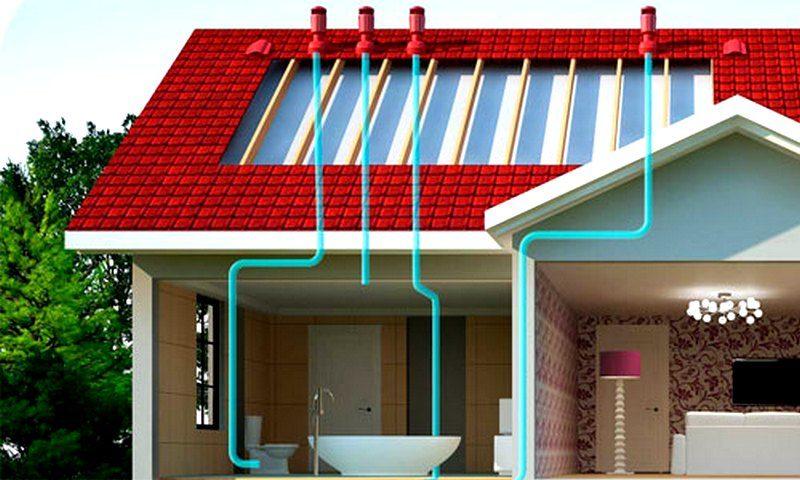 Вентиляция канализационной системы загородного дома