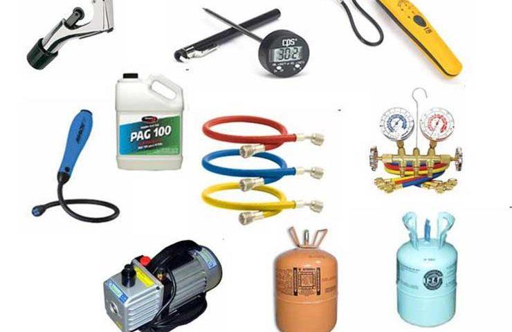 Необходимые расходные материалы для кондиционеров