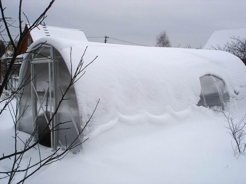 вентиляция теплицы зимой