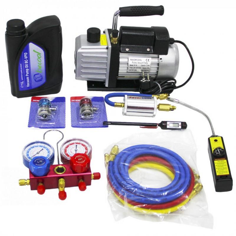 вакуумирование кондиционера - оборудование