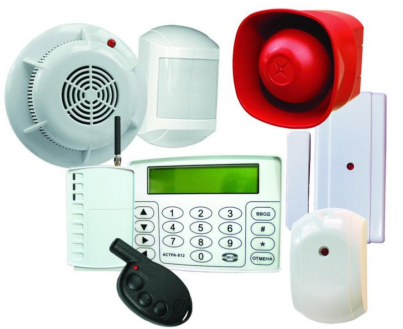 беспроводная пожарная сигнализация - датчики и база