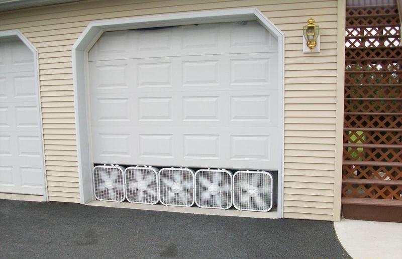 расчет вентиляции гаража