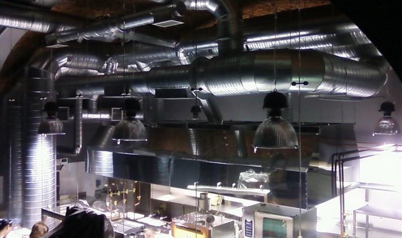 вентиляция горячего цеха