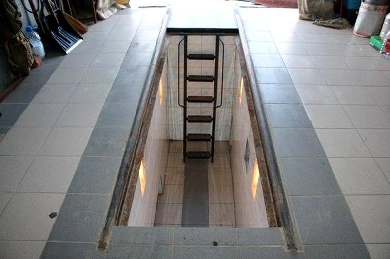 Смотровая яма и подвал в гараже