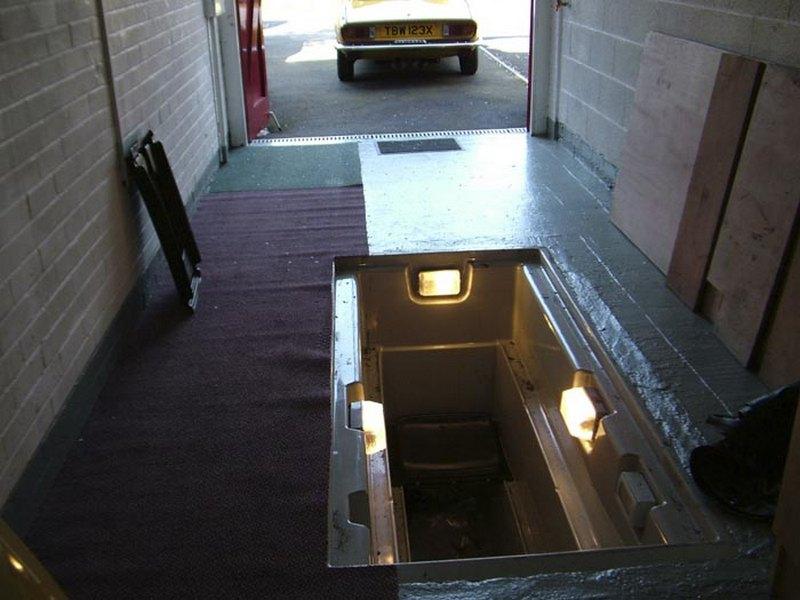 вентиляция в яме гаража