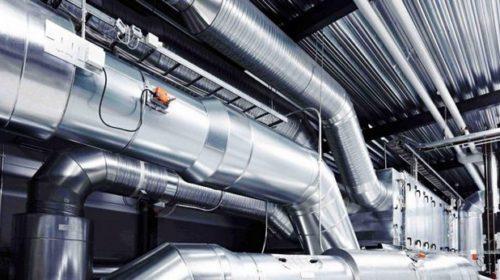Вентиляция производственного цеха