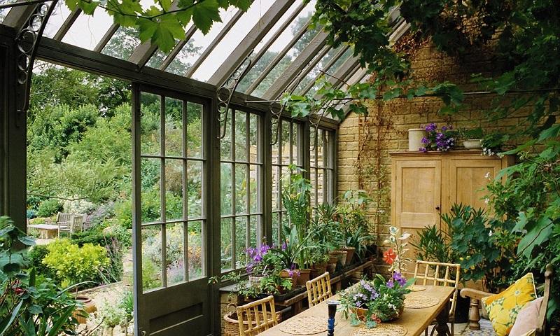 зимняя вентиляция теплицы, зимнего сада