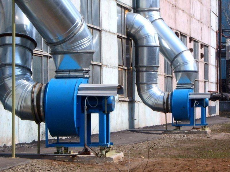 внешние вытяжки производственной вентиляции