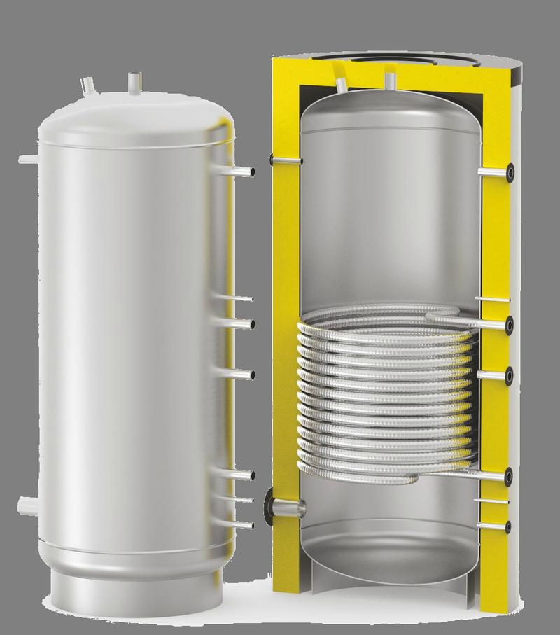 Объем - 0,35 кубм, новая нержавеющая емкость озу (вдп), с рубашкой, термоизоляцией, мешалкой, эл нагрев (оптия)